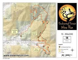 Oregon Winery Map by Enchanted Forest Wine Run World U0027s Marathons