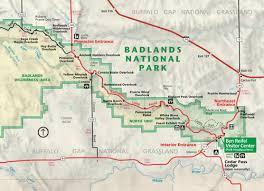 badlands national park map badlands national park south dakota card stanton studio