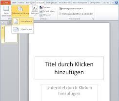 powerpoint design zuweisen nett powerpoint vorlage ändern zeitgenössisch