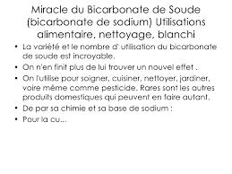 utilité bicarbonate de soude en cuisine bicarbonate de soude bicarbonate soude com
