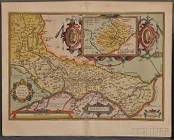 Map Of New England by Map Lot Four Early Maps Of New England Cremona Languedoc And