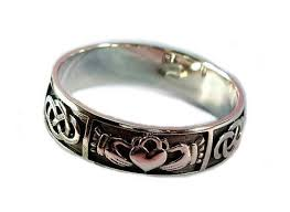 mens claddagh ring mens claddagh ring wedding ring handmade claddagh ring men