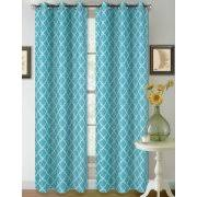 108 Length Drapes Turquoise Curtains