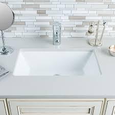 Vanity Undermount Sinks Bathroom Best Undermount Sink Contemporary Sinks Cleveland Within