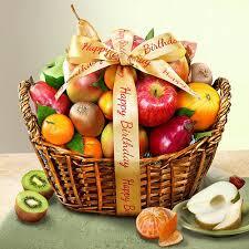 fruit basket ideas birthday fruit basket cfg4000b birthdays basket ideas and happy