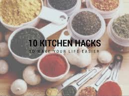 Kitchen Hacks by 10 Kitchen Hacks You Should Know