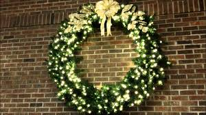 the best lighted wreath picture inspirations pic for large