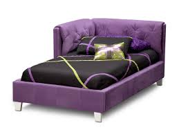reversible corner purple bed american signature furniture z