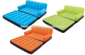 5 in 1 inflatable bestway velvet sofa air bed couch sofa bed