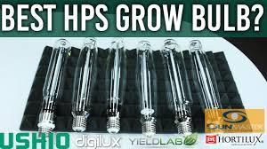 Best 2015 Hps Grow Light Comparison Test Review Youtube
