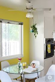 how to transform a dining room with a bright paint color live