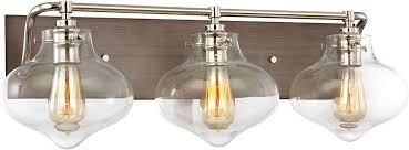 elk 31942 3 kelsey modern weathered zinc polished nickel 3 light