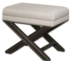 ottomans u0026 benches ottomans for bedroom upholstered bedroom