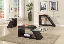 Glass End Tables For Living Room Wood And Glass End Tables Design U2013 House Photos