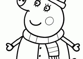 peppa pig coloring pages coloring4free com