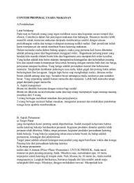 contoh membuat proposal riset 25 contoh proposal usaha bisnis yang baik dan benar lengkap doc