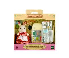 sylvanian families figure u0026 furniture set 5014 chocolate rabbit