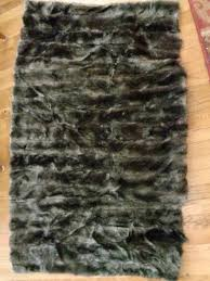 faux fur rug from a coat redo it yourself inspirations faux