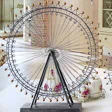 new vintage happiness ferris wheel model for home