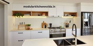 how to paint laminate kitchen cabinets bunnings how do l shaped kitchen manufacturers in noida work with