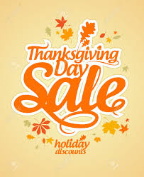 best thanksgiving day sales thanksgiving day sale design template royalty free cliparts