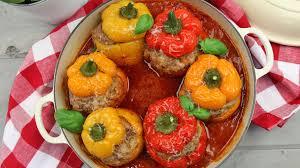 Lidia S Kitchen Recipes by Lidia Bastianich U0027s Stuffed Peppers