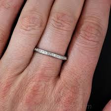 tiffany rings bands images Tiffany co vintage platinum and diamond eternity band jpg