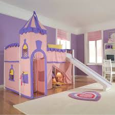 wonderful fun kids castle shaped themed bed ideas furniture