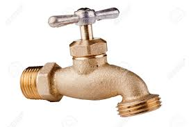Brass Technical Faucet With A Shut Off Valve And Ability