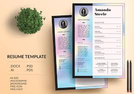 Resume Background Image 50 Best Resume Templates For Word That Look Like Photoshop Designs