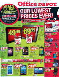 best black friday deals on itunes cards office depot black friday 2013 ad find the best office depot