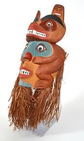 david neel bear mother alder mask northwest coast native art 24