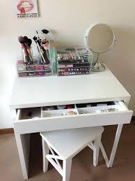 Makeup Organizer Desk Makeup Storage Desk Decorating Lovely Desk For Study Or Ideas