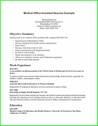 cover letter for medical assistant resume 23 appealing resume go
