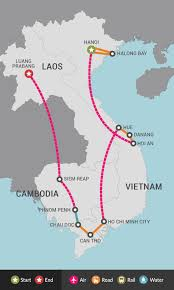Laos World Map by Best Of Vietnam Cambodia U0026 Laos Tour East Holidays