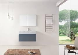 Design House Wyndham Vanity Virtu Usa Zuri 39 Single Bathroom Vanity Cabinet Set In Grey