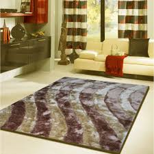 5x7 Area Rugs by Flooring 3 Dimension Shaggy 5x7 Area Rugs With Waves Motif On