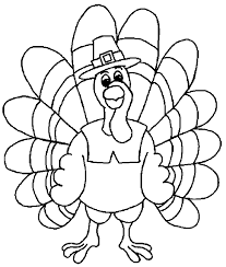 thanksgiving day turkey coloring pages happy thanksgiving day