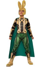youth boys halloween costumes deluxe loki child costume purecostumes com