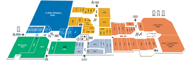 Centre Bell Floor Plan Boutiques Rockland