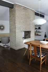 Kitchen Fireplace Design Ideas by Best 20 Midcentury Fireplaces Ideas On Pinterest Midcentury