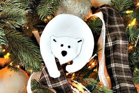 and easy to make polar ornament