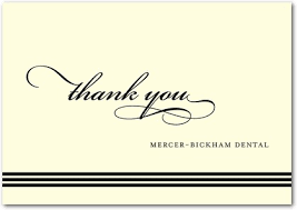 business thank you cards custom business thank you cards thank you card simple design of