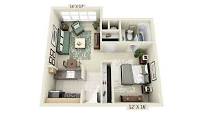 apartment layout ideas 20ftx24ft cabin or studio apartment layout compact living spaces