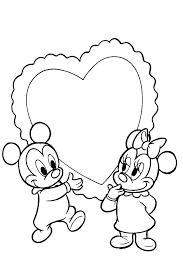 coloring page baby disney coloring pages 0