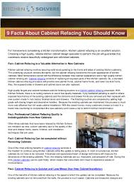 What Is The Cost Of Refacing Kitchen Cabinets 9factsaboutcabinetrefacingyoushouldknow 140411084917 Phpapp02 Thumbnail 4 Jpg Cb U003d1397206228