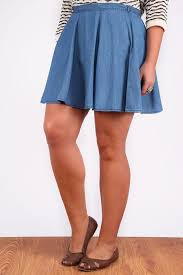 light blue skater skirt light blue denim look skater skirt plus size 16 18 20 22 24 26 28 30 32