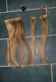 diy hair extensions mr kate diy clip in hair extensions