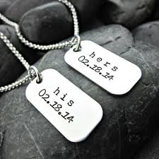 his and hers dog tags big middle from shawnalanecreations on
