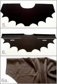 how to easy bat wings for halloween or dress ups bat wings